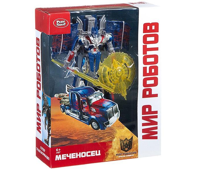 Купить Роботы, Play Smart Робот-трансформер Мир роботов 2 в 1 Меченосец