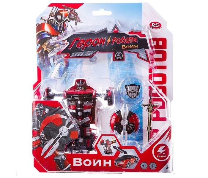 Купить Роботы, Play Smart Робот-трансформер Герои роботы 1:32
