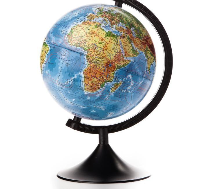 Globen Глобус Земли физический 210 серия Классик