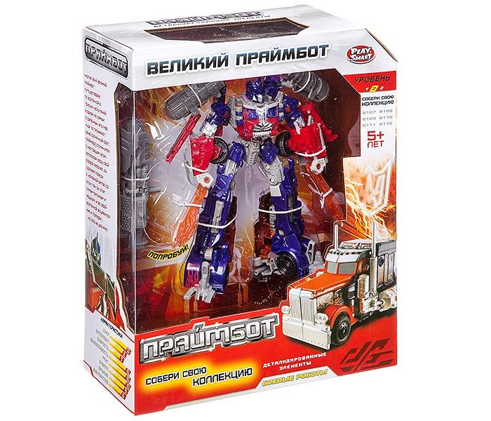Купить Роботы, Play Smart Робот-трансформер Великий Праймбот Л59251