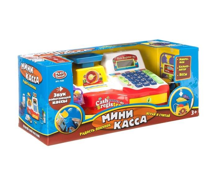 Ролевые игры Play Smart Кассовый аппарат с продуктами Б79517