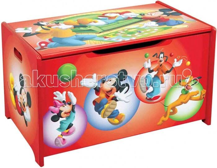 Детская мебель , Ящики для игрушек Disney Короб для игрушек Микки и его друзья арт: 7778 -  Ящики для игрушек