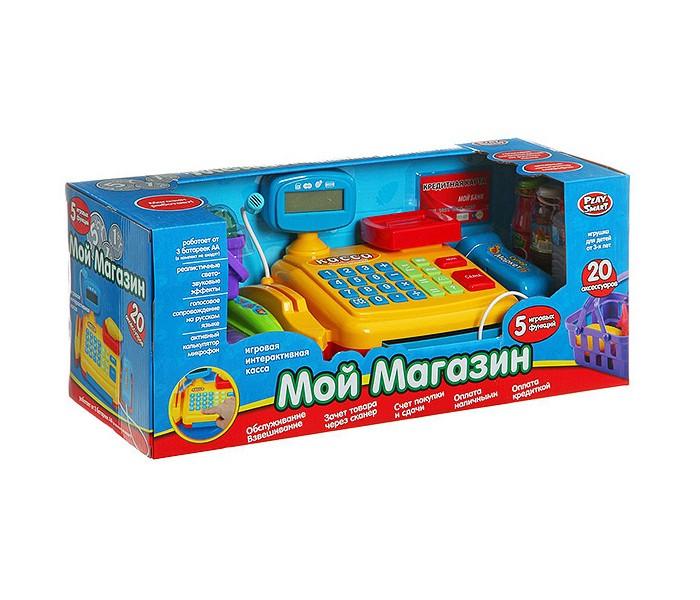 Ролевые игры Play Smart Игровой набор с кассой Мой магазин