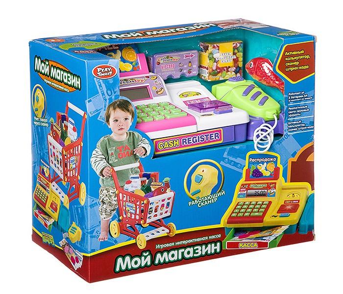 Play Smart Игрушка касса Мой магазин со сканером Б62510