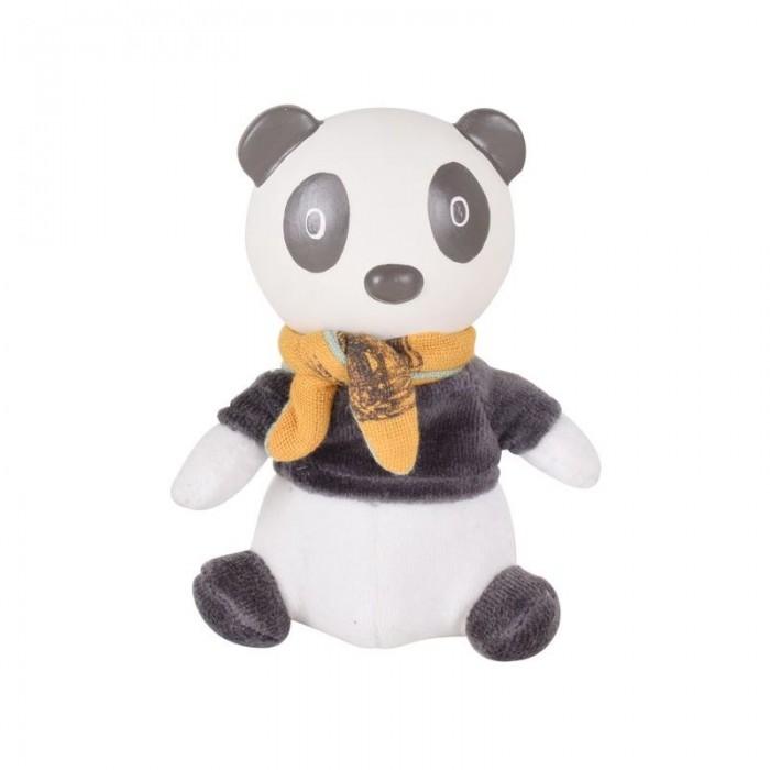 Мягкая игрушка Tikiri с головой из каучука Панда Pancha 19 см фото