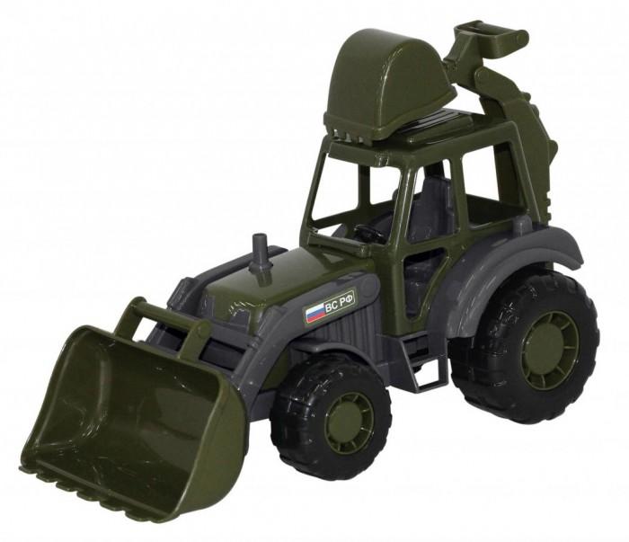 Машины Полесье Мастер Трактор-экскаватор военный