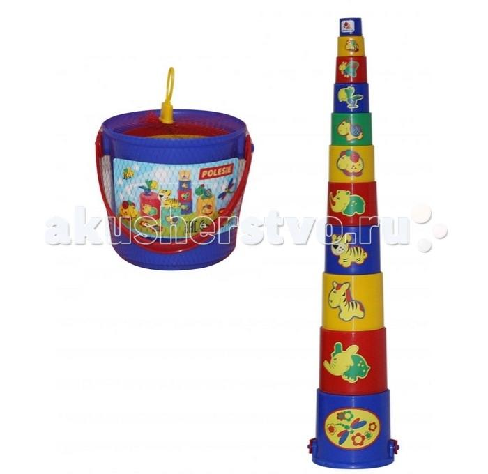 Развивающие игрушки Cavallino Занимательная пирамидка №3 краснокамская игрушка развивающая пирамидка кольцевая