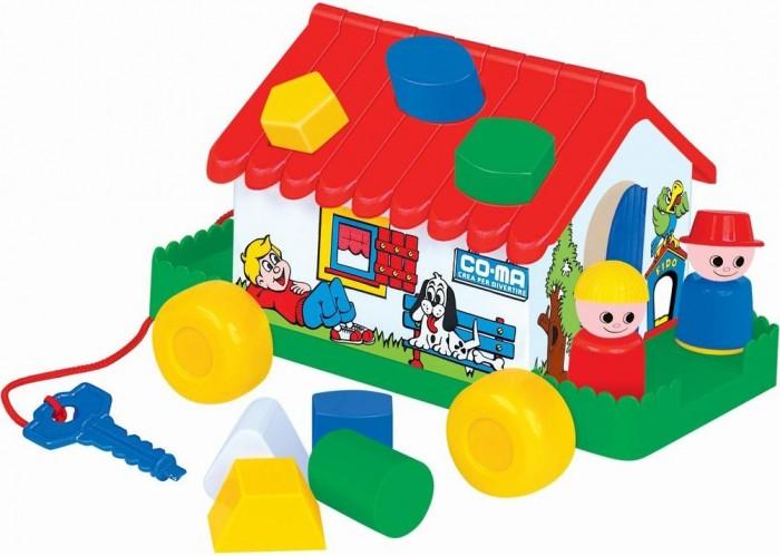 Сортеры Cavallino Игровой дом каталка сортер полесье игровой дом