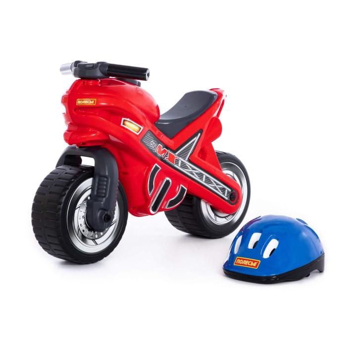 Детский транспорт , Каталки Coloma мотоцикл MOTO MX со шлемом арт: 77852 -  Каталки