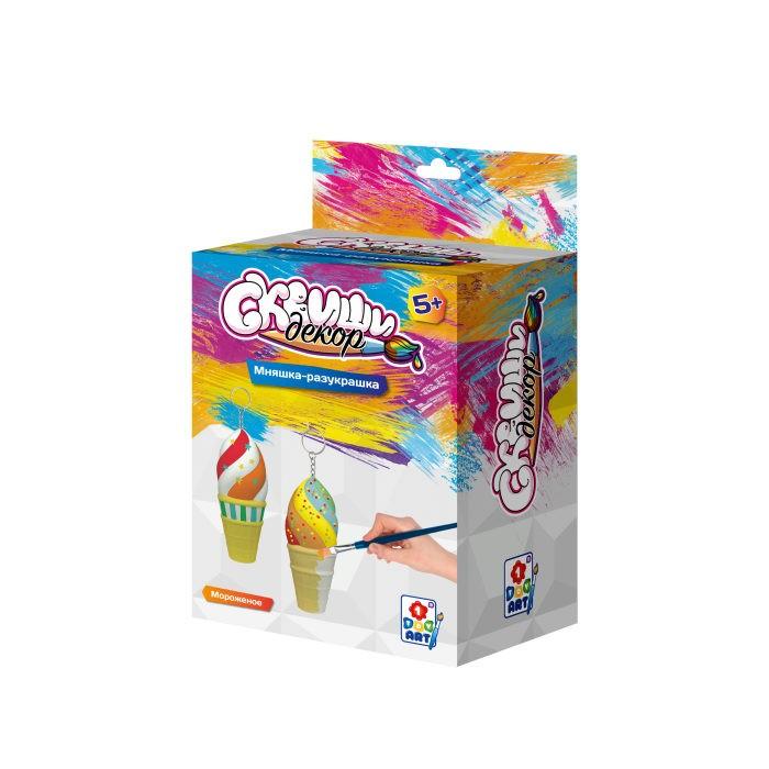 Купить 1 Toy Сквиши Декор Набор для детского творчества Мороженое в интернет магазине. Цены, фото, описания, характеристики, отзывы, обзоры