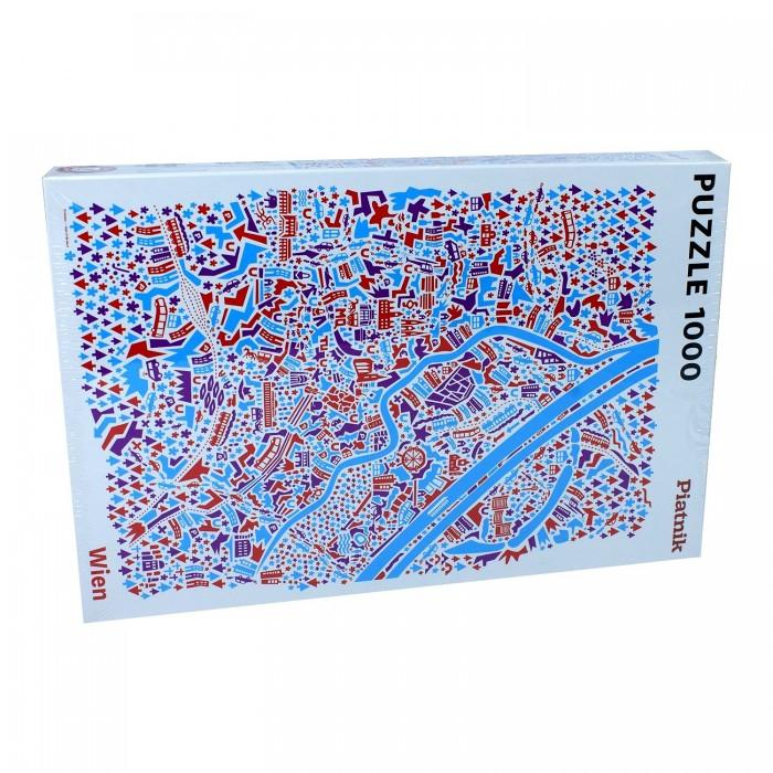 Пазлы Piatnik Пазлы Вена Иллюстрированная карта (1000 элементов)