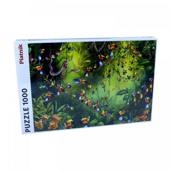 Пазлы Piatnik Пазлы Франсуа Рюйер Птицы в джунглях (1000 элементов)