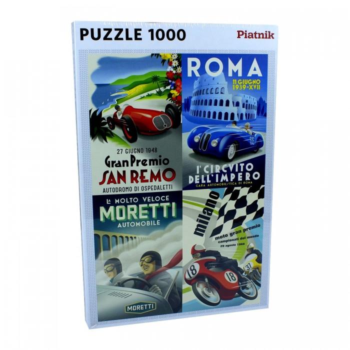 Пазлы Piatnik Пазлы Винтажные итальянские постеры (1000 элементов)