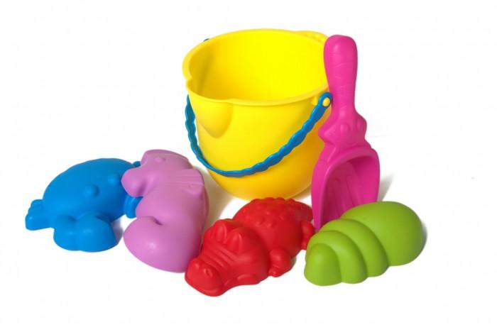 Купить ЯиГрушка Набор для песочницы: Ведерко, совок, 4 формочки в интернет магазине. Цены, фото, описания, характеристики, отзывы, обзоры
