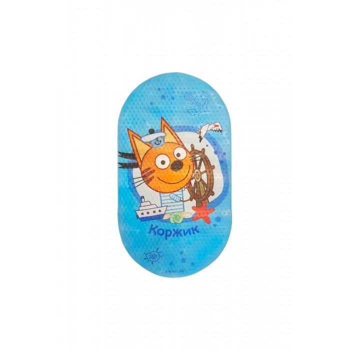 Коврик Три кота для ванны Коржик