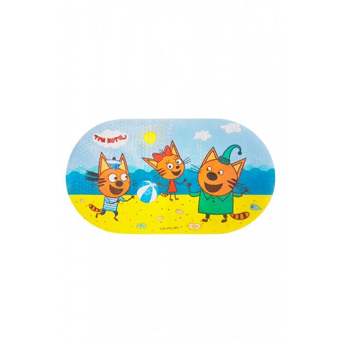 Купить Коврики для купания, Коврик Три кота для ванны Пляжный волейбол