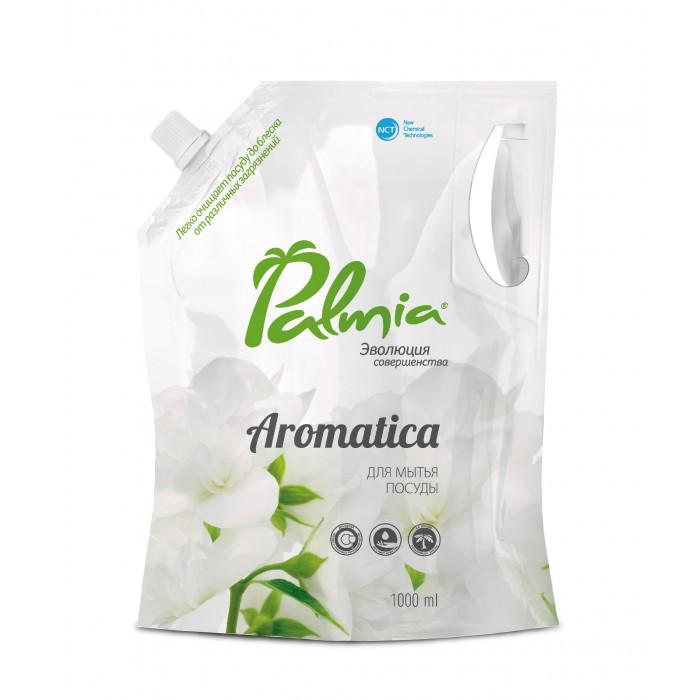 Бытовая химия Palmia Средство для мытья посуды с ароматом зеленого чая и жасмина Aromatica 1 л palmia средство palmia bambini для мытья детской посуды 5 л
