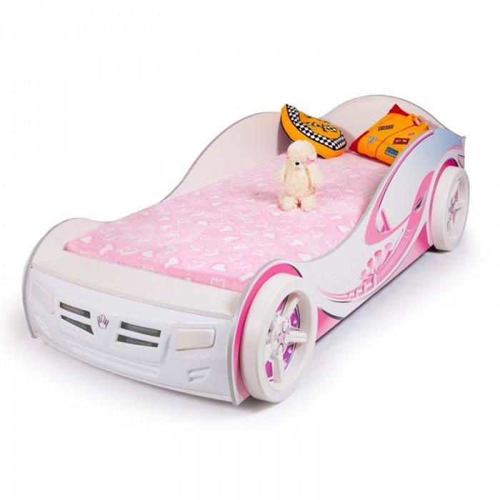 Подростковая кровать ABC-King машина Princess 160x90 см