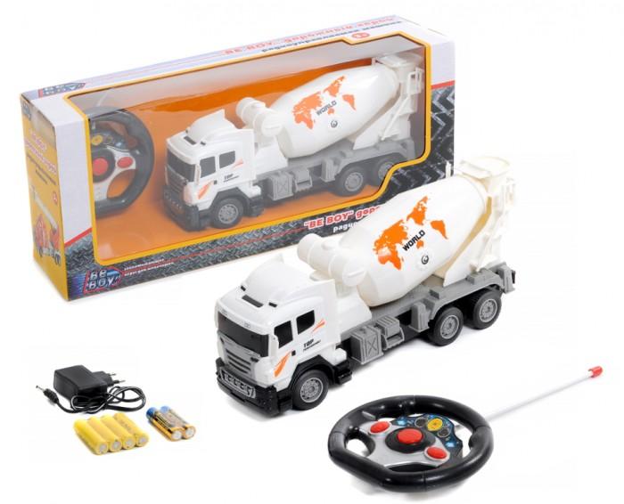 Радиоуправляемые игрушки BeBoy Грузовик-бетономешалка на радиоуправлении