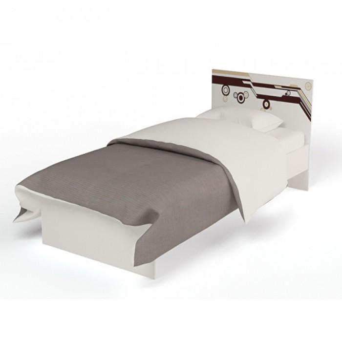 Картинка для Подростковая кровать ABC-King Extreme с рисунком без ящика 190x90 см