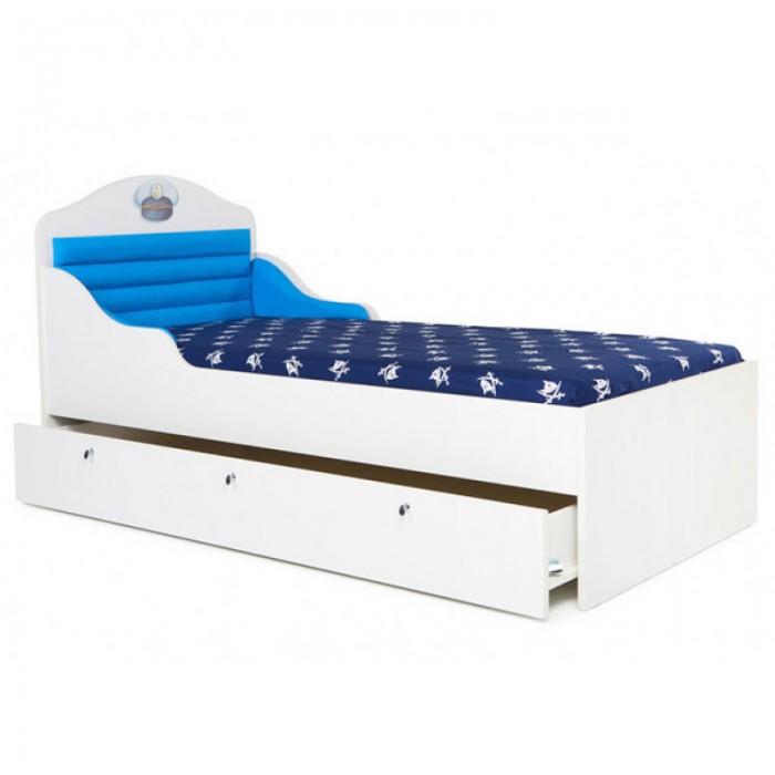 Кровати для подростков ABC-King корабль без ящика и носа 160x90 см