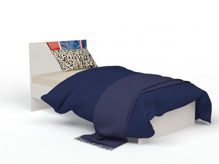 Подростковая кровать ABC-King Человек паук с рисунком без ящика 160x90 см фото