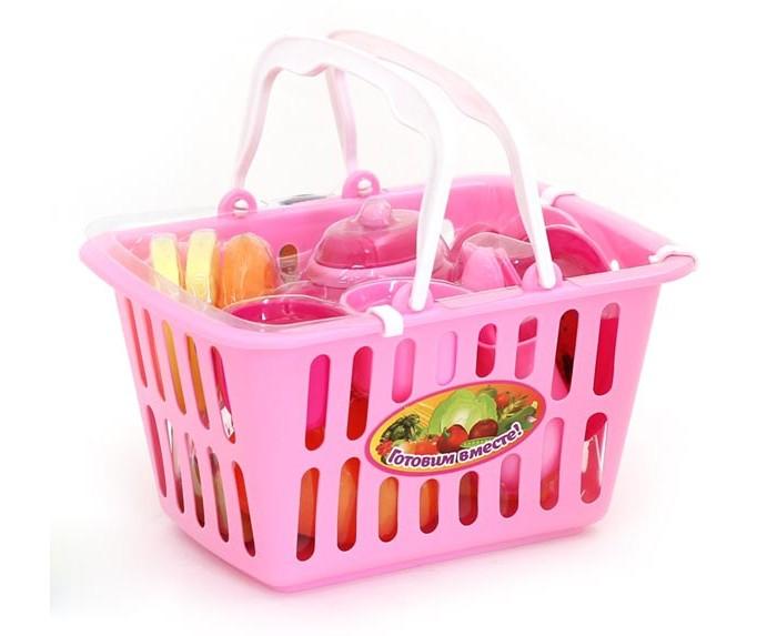 Купить Ролевые игры, Girls Club Набор Посудка в корзинке IT100305