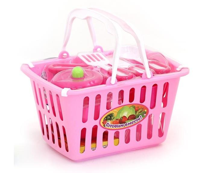 Купить Ролевые игры, Girls Club Набор Посудка в корзинке IT100306