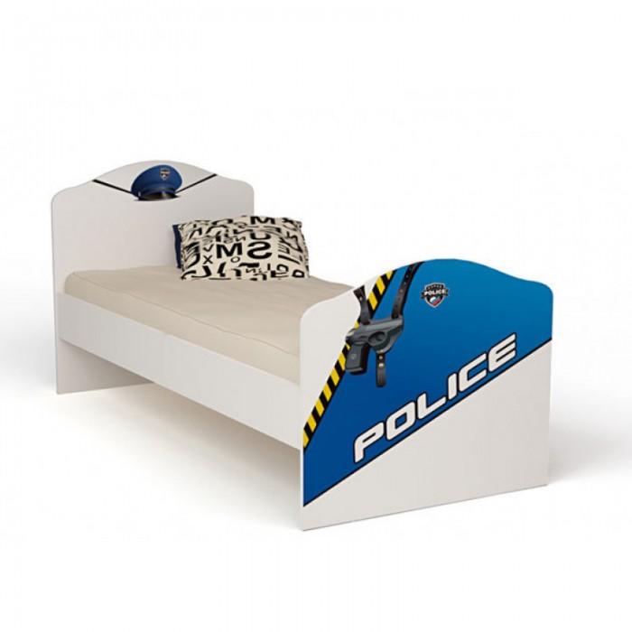 Кровати для подростков ABC-King Police без ящика 190x90 см