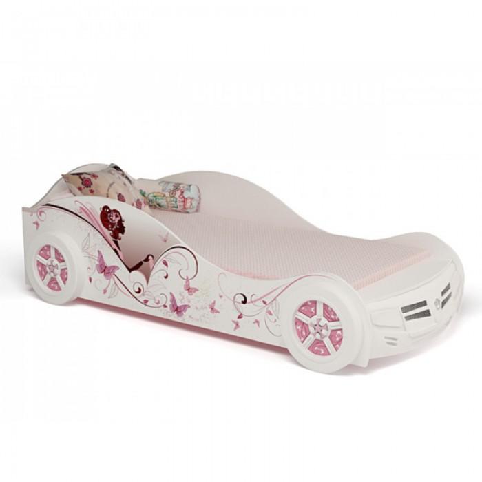 Подростковая кровать ABC-King машина Фея со стразами Сваровски 160x90 см