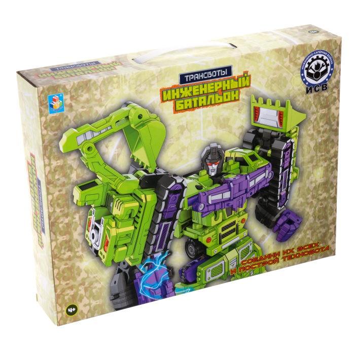 1 Toy Робот Трансботы Инженерный батальон набор из 6 шт. Робот Трансботы Инженерный батальон набор из 6 шт.
