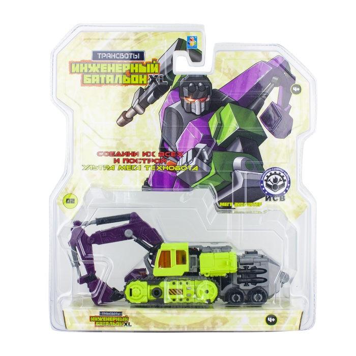 Роботы 1 Toy Робот Трансботы Инженерный батальон XL: Мега Эксдиггер