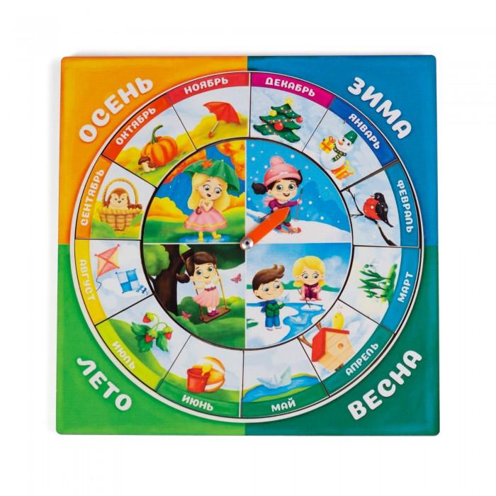 Картинка для Деревянные игрушки Сибирские игрушки Календарь для девочек Изучаем времена года и месяцы