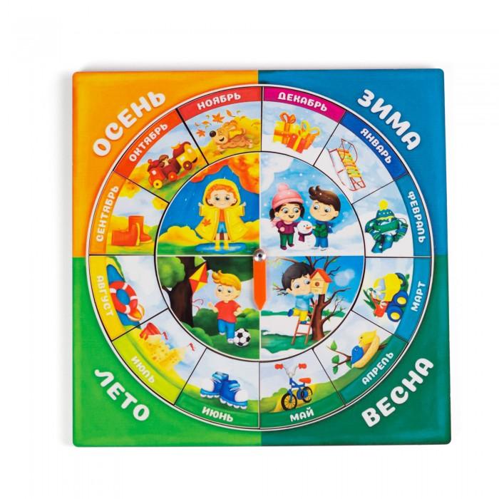 Картинка для Деревянные игрушки Сибирские игрушки Календарь для мальчиков Изучаем времена года и месяцы