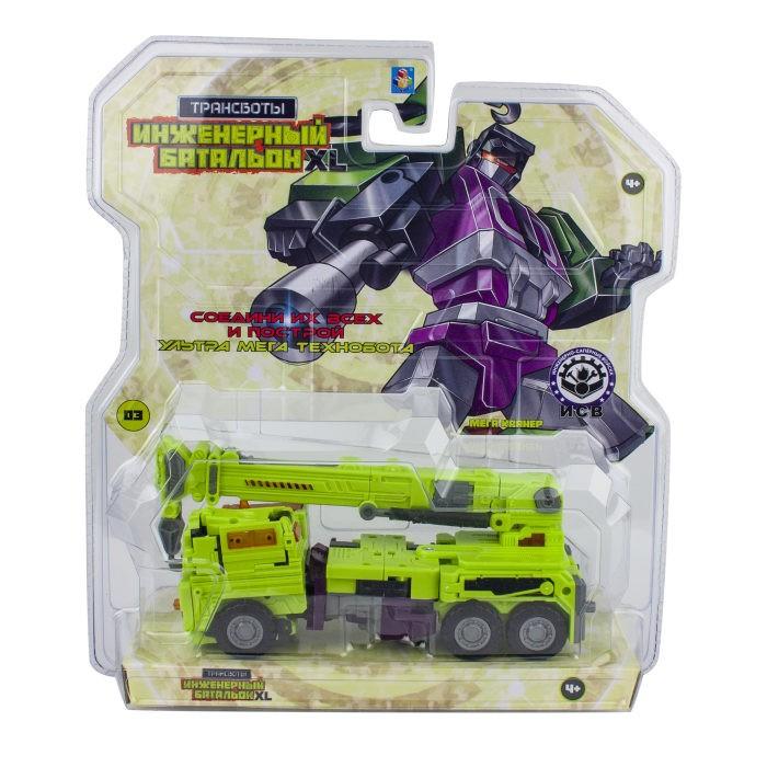 Роботы 1 Toy Робот Трансботы Инженерный батальон XL: Мега Кранер