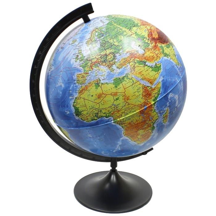 Глобусы Globen Глобус Земли физический 320 серия Классик