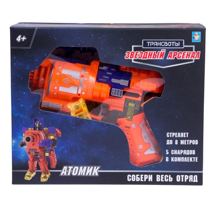 Купить Роботы, 1 Toy Робот Трансботы Звёздный арсенал Атомик