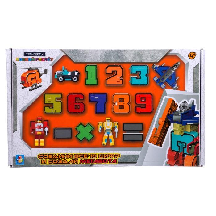 Роботы 1 Toy Робот Трансботы Боевой расчет (10 цифр, 5 знаков)