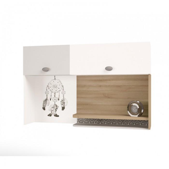 ABC-King Полка навесная надстройка на стол Mix Ловец снов (левый) фото