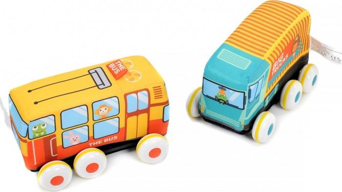 Мягкая игрушка Elefantino Машинки Веселые гонки