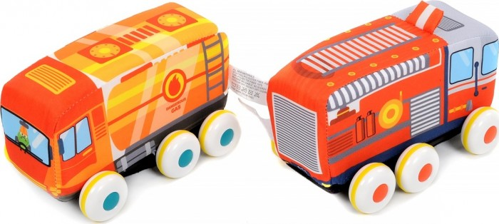Мягкая игрушка Elefantino Машинки инерционные Веселые гонки IT104754