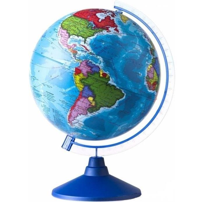 Глобусы Globen Глобус Земли политический 250 серия Евро globen глобус земли политический рельефный 320 серия евро