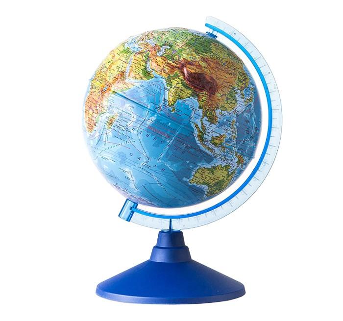 Развитие и школа , Глобусы Globen Глобус Земли физический рельефный 320 серия Евро арт: 78064 -  Глобусы