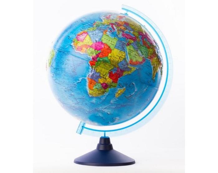 Глобусы Globen Глобус Земли политический рельефный 320 серия Евро globen глобус земли политический рельефный 320 серия евро