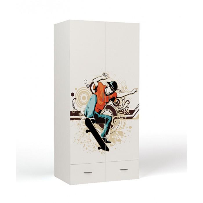 Купить Шкаф ABC-King 2-х дверный Extreme Skate в интернет магазине. Цены, фото, описания, характеристики, отзывы, обзоры