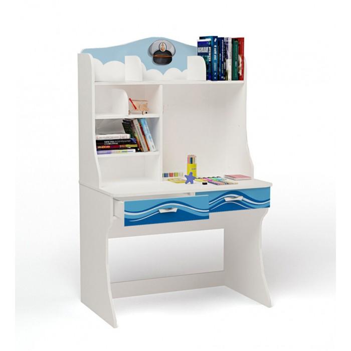 Детские столы и стулья ABC-King Стол с надстройкой Ocean детские столы и стулья abc king стол с надстройкой la man