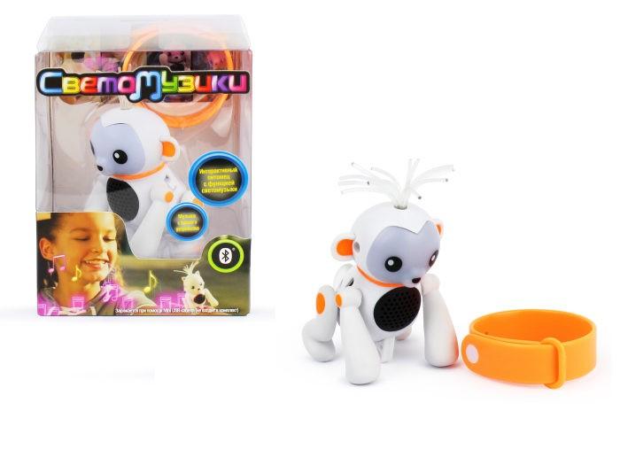 Купить Интерактивные игрушки, Интерактивная игрушка 1 Toy Светомузики Обезьянка
