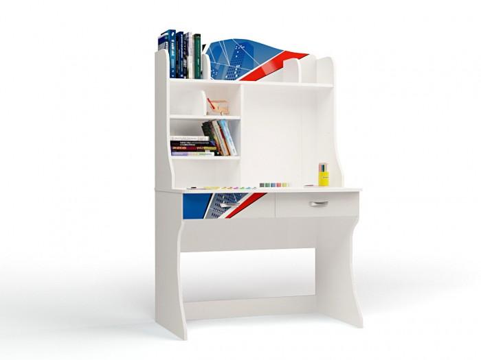 Детские столы и стулья ABC-King Стол с надстройкой Человек паук столы из дсп на кухню
