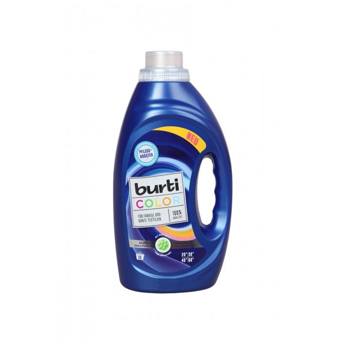 Бытовая химия Burti Color Liquid Жидкое средство для стирки цветного белья с формулой Активатор цвета 1.45 л