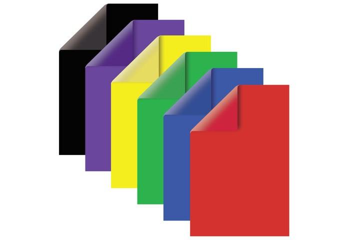 Канцелярия Brauberg Картон цветной А4 тонированный в массе, 60 листов 6 цветов